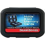 Delkin DDACC-SD8 Rangement pour 8 cartes Format SD Noir