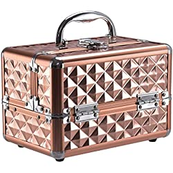 Generic. IC Vani Vanity à Ongles Onal Professional Chariot du câble de Rangement des KE Up Co Grande Valise Beauty Box Mak à Sac de Maquillage Beauté