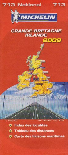 Grande-Bretagne, Irlande : 1/1 000 000 par Michelin