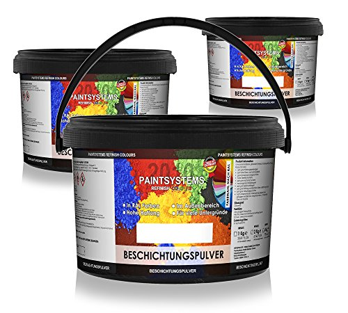 PAINTSYSTEMS REFINISH COLOURS Candy Pulverlack PE Rot glänzend 2kg