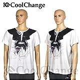 CoolChange T-Shirt Tokyo Ghoul de haute qualité avec dessin de Ken Kaneki, blanc, Taille: XXL