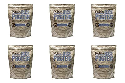 (6 PACK) - Pulsin Rice Protein Powder| 1 kg |6 PACK - SUPER SAVER - SAVE MONEY by PULSIN' SNACKS