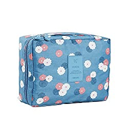 Fightart Cosmetic Bag Multifunctional Waterproof Outdoor Travel Organizer Bag