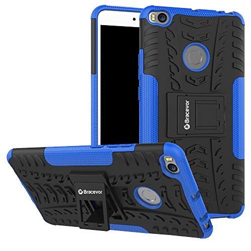 Bracevor Xiaomi Mi Max 2 Premium Flip Cover Leather Case | Inner TPU | Wallet Stand