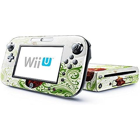 Mia Musica 10002, Chitarra, Skin Autoadesivo Sticker Adesivi Pelle Cover Decal Set con Disegno Strutturato con Nintendo Wii U