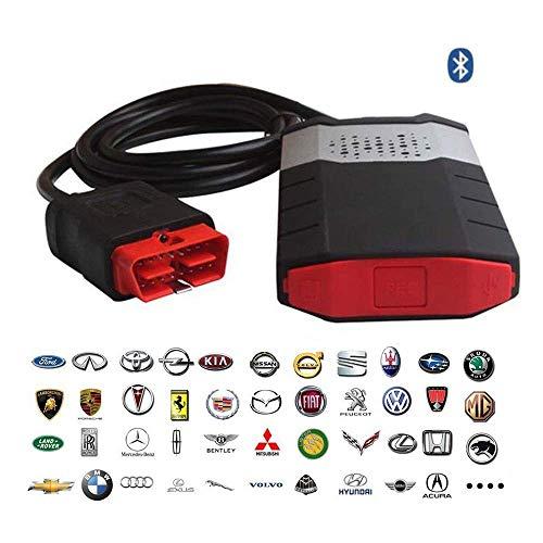 150E TCS CDP OBD2 mit Bluetooth-Auto-LKW-Fehlerdiagnoseinstrument 2016.1,Für PKW und LKW,Black