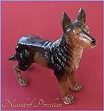 Graf von Gerlitzen Neundorf Porzellan Figur Porzellanfigur Hund 6T