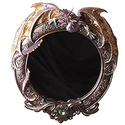 GTH122F Dark Legends Round Dragon Mirror 47cm RRP £85.00