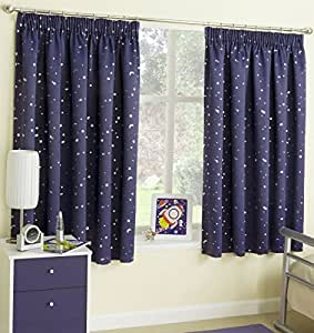 Cosmic Lined Blackout Curtains 46 Quot X 54 Quot Thermal Space