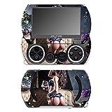 'DISAGU sf-531p 14232_ 1032Skin pour Sony PSP Go-Motif Sexy Brune Transparent