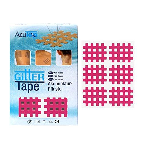 AcuTop Typ B, Gitter Tape, pink - 120 Tapes