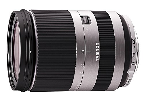 Tamron 18-200 mm VC Di III Lens For Canon EOS-M Cameras - Silver