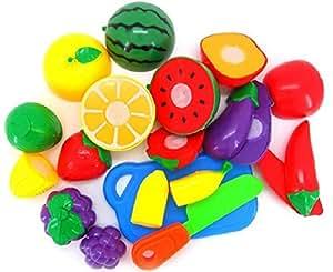 Malloom® 1 Jeu de Coupe Légumes Fruits Jeux de Dimulation Enfants Jouet Kid éducation