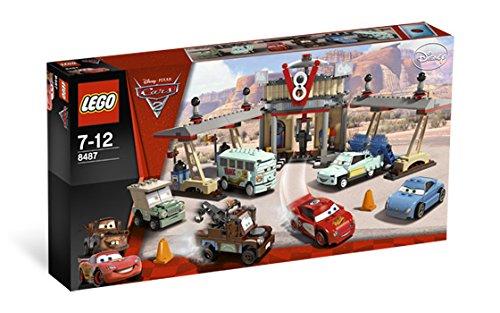 duplo waschanlage LEGO 8487 Cars 2 Flo's V8 Café