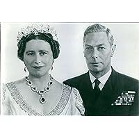 Vintage Foto Di Re Giorgio VI e
