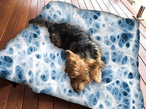 Nerven-system (Nerven System Hundebett Pet Supplies Große extra Größe XL Reißverschluss mit Innenkissen)