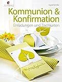 Kommunion & Konfirmation: Einladungen und Tischkarten