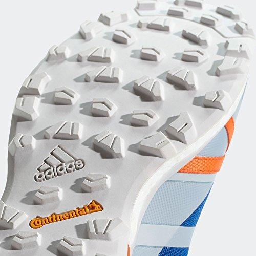adidas Herren Terrex Agravic Traillaufschuhe, Schwarz, 50.7 EU blau (Belazu/Griuno/Naranj 000)