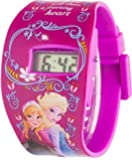 Disney Frozen children's quartz Watch with LCD Dial digital Display and multicolour plastic Strap FROZ2