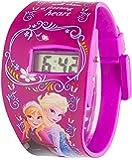 Gefrorene LCD Uhr - Dark Pink Strap