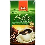Melitta Gemahlener Röstkaffee, Filterkaffee, vollmundig und temperamentvoll, kräftiger Röstgrad, Stärke 4, Auslese Klassisch, 1x 500 g