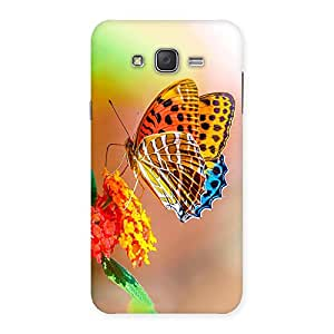 Cute Queen Butterfly Back Case Cover for Galaxy J7