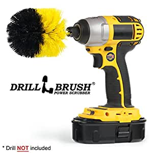 Drill Brush Cordless Drill Power Scrubber by Drillbrush