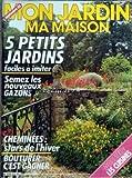 MON JARDIN MA MAISON [No 319] du 01/09/1985 - 5 PETITS JARDINS - SEMEZ LES NOUVEAUX GAZONS - CHEMINEES - STARS DE L'HIVER - BOUTURER C'EST GAGNER - LES CUISINES