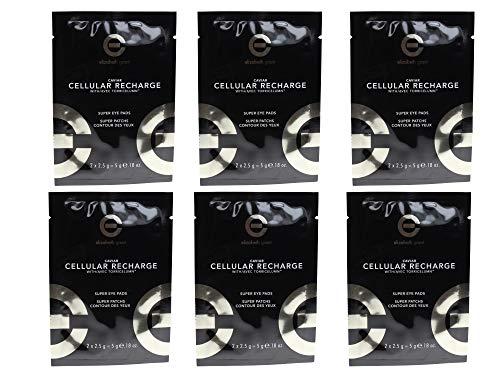 ELIZABETH GRANT CAVIAR CELLULAR RECHARGE SUPER Eyepads 6x 2 Stück (6x5g)