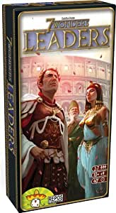 7 Wonders Leaders Expansion Board Game by Asmodee (English Manual)