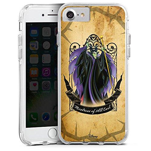 Apple iPhone 8 Bumper Hülle Bumper Case Glitzer Hülle Disney Dornroeschen Merchandise Geschenke Bumper Case transparent