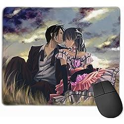 Anime Tapis de Souris avec Support de Poignet pc Poitrine effacé Filles ami idées Cadeaux Nouvel an Magasin Familial Valentine année 2020