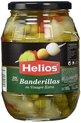 Helios Banderillas en Vinagre - 1000 gr - [Pack de 3]