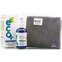 Ecomoist Kit De Nettoyage Accessoire pour Lunettes Photo et Écrans 100ml