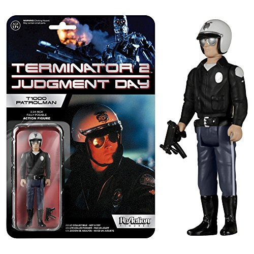 FunKo Reaction: Terminator 2 - T-1000 Patrolman Action Figure