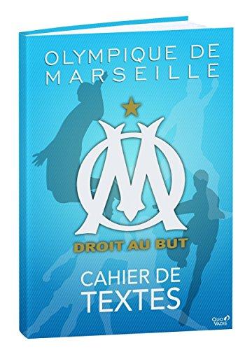 Quo Vadis Olympique Marseille 266276Q Cahier de Text es 15 x 21 cm