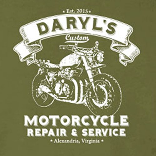 Daryl's Motorcycle Service - Stofftasche / Beutel Grau