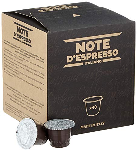 Note D'Espresso Kapseln Schokolade 7g x 40 Kapseln