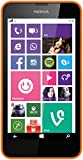 Nokia Lumia 635 Smartphone, Micro SIM, Display 4,6 pollici, Fotocamera 5 MP, Win 8.1, Arancione [Germania]