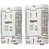 Kit de 2 batteries 700mAh pour Wii Remote