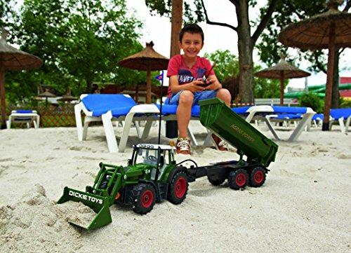 Ferngesteuerter Traktor Fendt Farmer – Dickie - 8