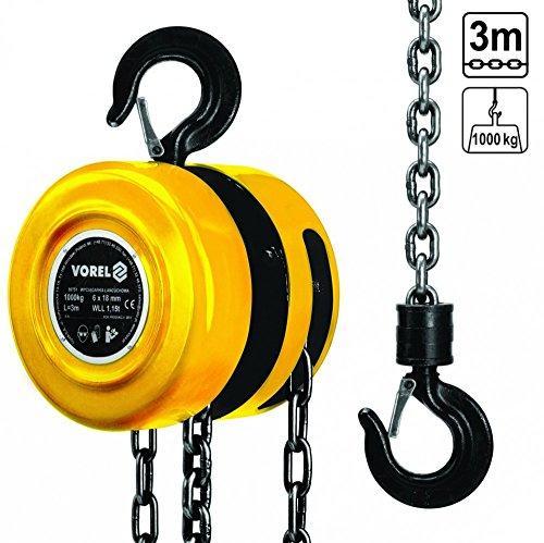 Vorel 80751-Block Kette 1000kg