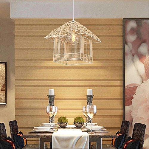 Kronleuchter Mode Rattan Kronleuchter Hütte Wohnzimmer Schrank Schlafzimmer kreative Beleuchtung Restaurant Lichter Birnen ist nicht enthalten. (Schlafzimmer-rattan-schrank)
