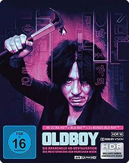Oldboy - Limited SteelBook (4K Ultra HD) (+ Blu-ray 2D) (+ 2 Bonus-Blu-rays)