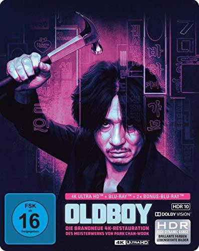 Oldboy - Limited SteelBook  (4K Ultra HD) (+ Blu-ray 2D) (+ Bonus-Blu-ray) -