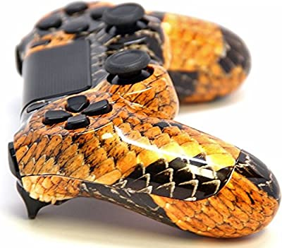 Gold Dragon Ps4 Custom UN-MODDED Controller Exclusive Design