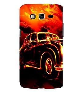 Ebby Premium 3d Desinger Printed Back Case Cover For Samsung Grand 2 7106 (Premium Desinger Case)
