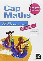 Cap Maths CE2 ed.2011, Guide de l'Enseignant Version Fichier+ Cahier de Géometrie-Mesure