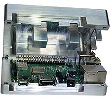 Raspberry Pi CPU 3Aluminium Housing with Built-in Passive Cooling no fan needed Passive Heatsink Fan RASBE RaspberryPi Passive Cooler Rasbery Raspberry Case Aluminium Case