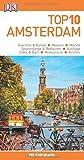 Top 10 Reiseführer Amsterdam: mit Extrakarte und kulinarischem Sprachführer zum Herausnehmen
